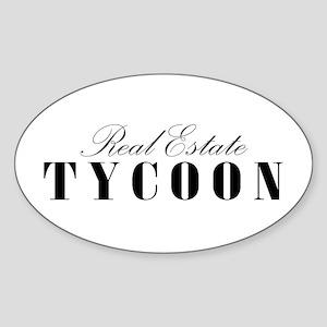 RE Tycoon Oval Sticker