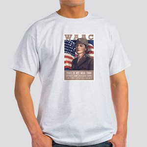 WAAC Ash Grey T-Shirt