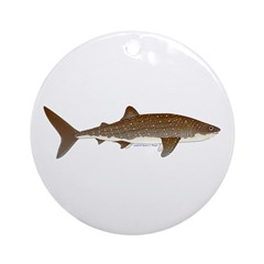 Whale Shark f Ornament (Round)