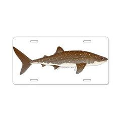 Whale Shark f Aluminum License Plate