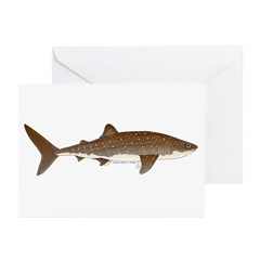 Whale Shark f Greeting Cards (Pk of 20)