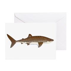 Whale Shark f Greeting Cards (Pk of 10)