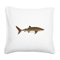 Whale Shark f Square Canvas Pillow