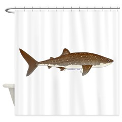 Whale Shark f Shower Curtain