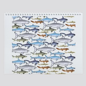 Shark Wall Calendar