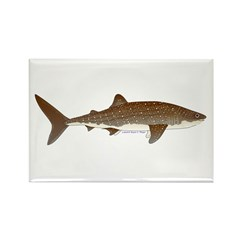 Whale Shark f Rectangle Magnet (10 pack)