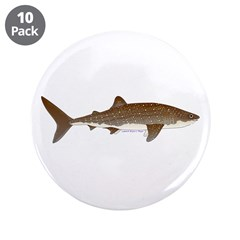 "Whale Shark f 3.5"" Button (10 pack)"