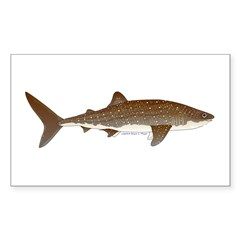 Whale Shark f Decal