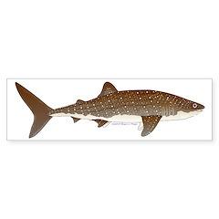 Whale Shark f Bumper Bumper Sticker