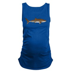 Whale Shark c Maternity Tank Top