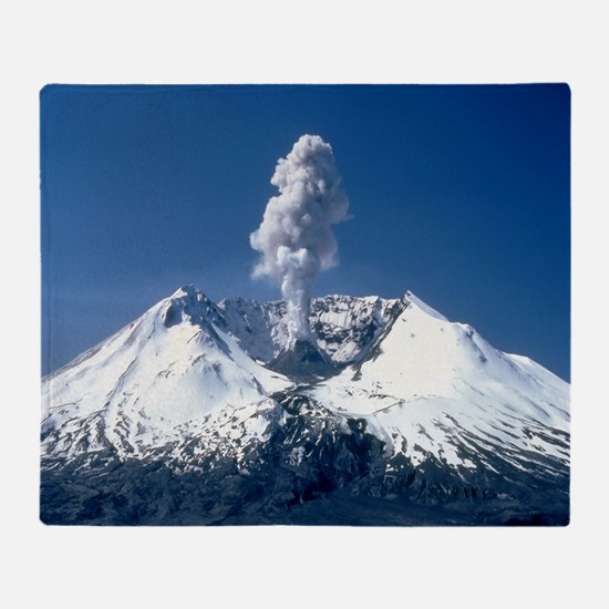 Mt. St. Helens Throw Blanket