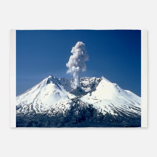 Mt. St. Helens 5'x7'Area Rug