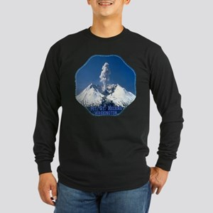 Mt. St. Helens Long Sleeve Dark T-Shirt