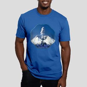 Mt. St. Helens Men's Fitted T-Shirt (dark)