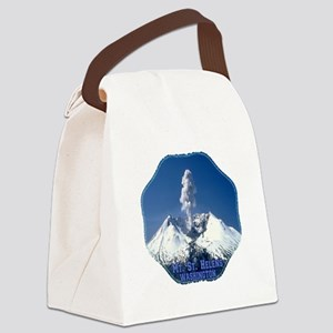Mt. St. Helens Canvas Lunch Bag
