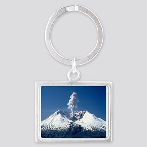 Mt. St. Helens Landscape Keychain