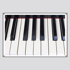 Piano Keys Banner
