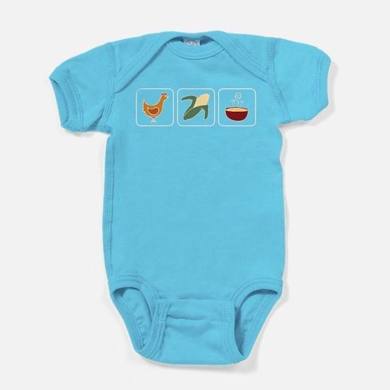 Chicken Corn Soup II Baby Bodysuit