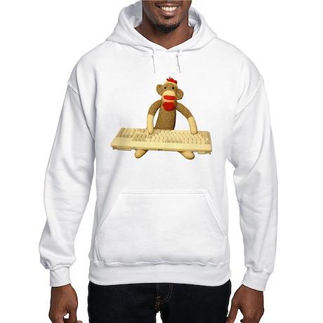 Code Monkey Hooded Sweatshirt