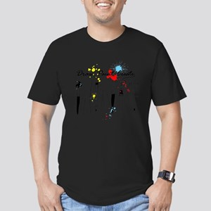 Draw Paint Create (Color) Men's Fitted T-Shirt (da