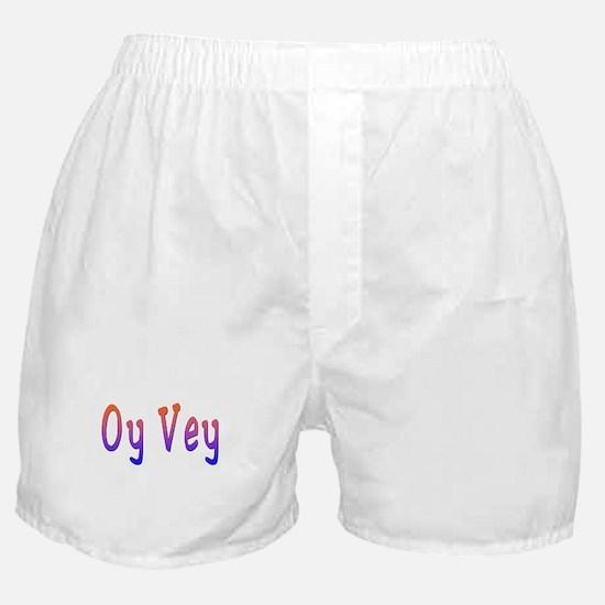 Yiddish Oy Vey Boxer Shorts