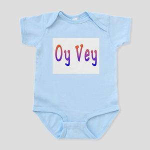 Yiddish Oy Vey Infant Bodysuit