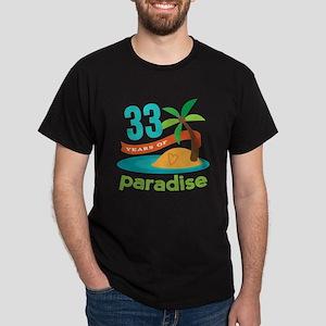 33rd Anniversary Paradise Dark T-Shirt