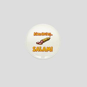 Funny Ask Me About My Salami Innuendo Humor Mini B