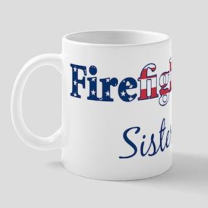 Firefighter Sister Mug