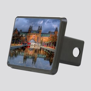 I Heart Amsterdam Rectangular Hitch Cover