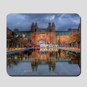 I Heart Amsterdam Mousepad