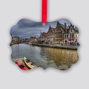 Charming Gent Picture Ornament