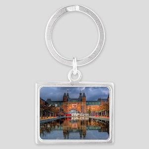 I Heart Amsterdam Landscape Keychain