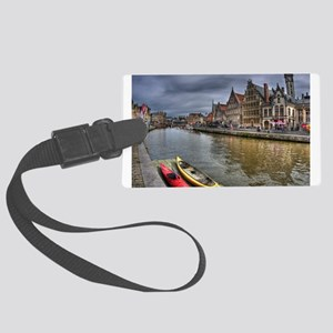 Charming Gent Large Luggage Tag