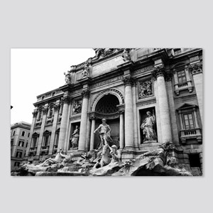 Trevi Fountain Postcards (Package of 8)