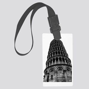 Leaning Tower of Pisa Large Luggage Tag