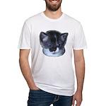 Blue Eyed Kitten Fitted T-Shirt