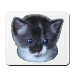 Blue Eyed Kitten Mousepad