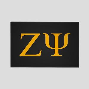 Zeta Psi Letters Class of XXXX Rectangle Magnet