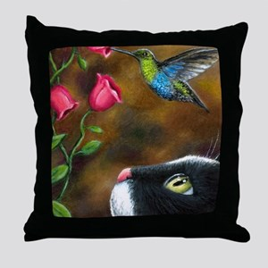 Cat 571 Throw Pillow