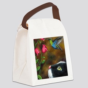 Cat 571 Canvas Lunch Bag