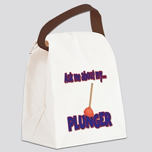 Funny Ask Me About My Plunger Plumber Design Canva