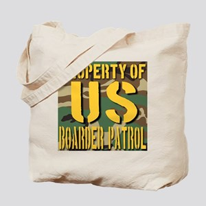 Property of US Boarder Patrol Tote Bag