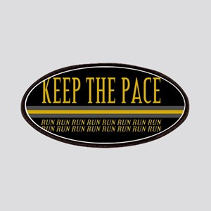 Running Keep the Pace Patches