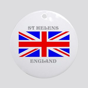 St Helens England Ornament (Round)