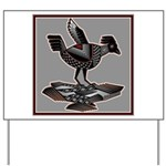 Mimbres Q Red Outline Yard Sign
