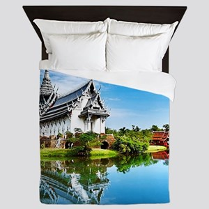 Chinese Garden Queen Duvet