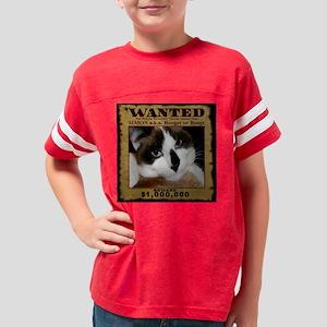 SimonWanted13x13 Youth Football Shirt