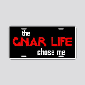 Gnar Life Aluminum License Plate
