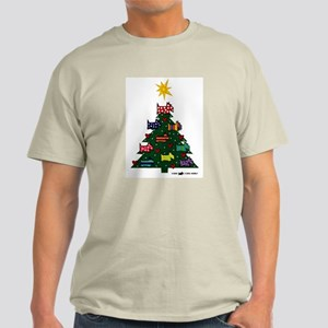 SCOTTISH TERRIER CHRISTMAS TREE Ash Grey T-Shirt